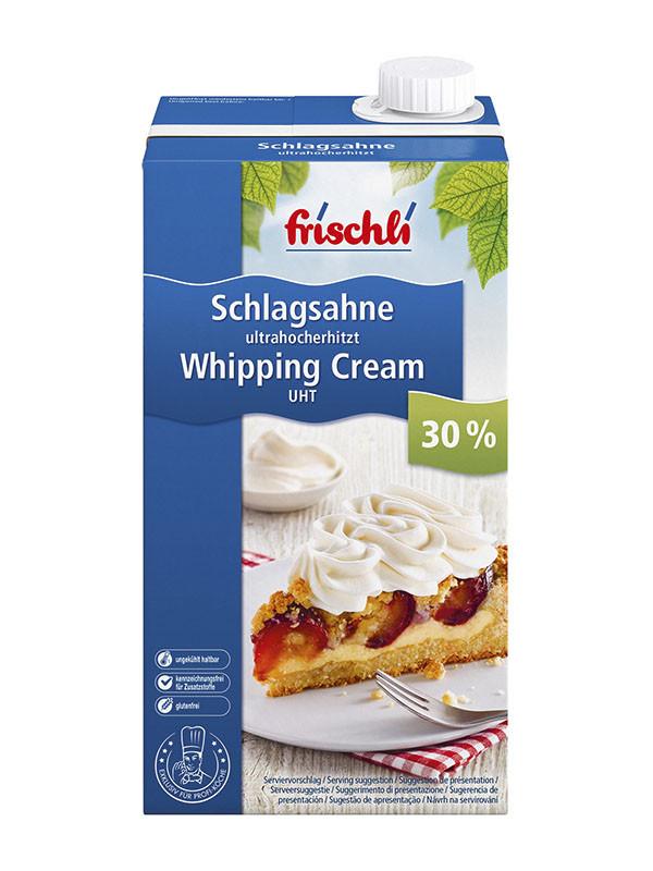 "Сливки ТМ ""Frischli"" 30% 1 литр"