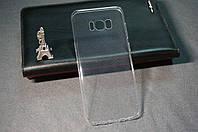 Силиконовый бампер на SAMSUNG Galaxy S8 (прозрачный) / Чехол на самсунг с 8