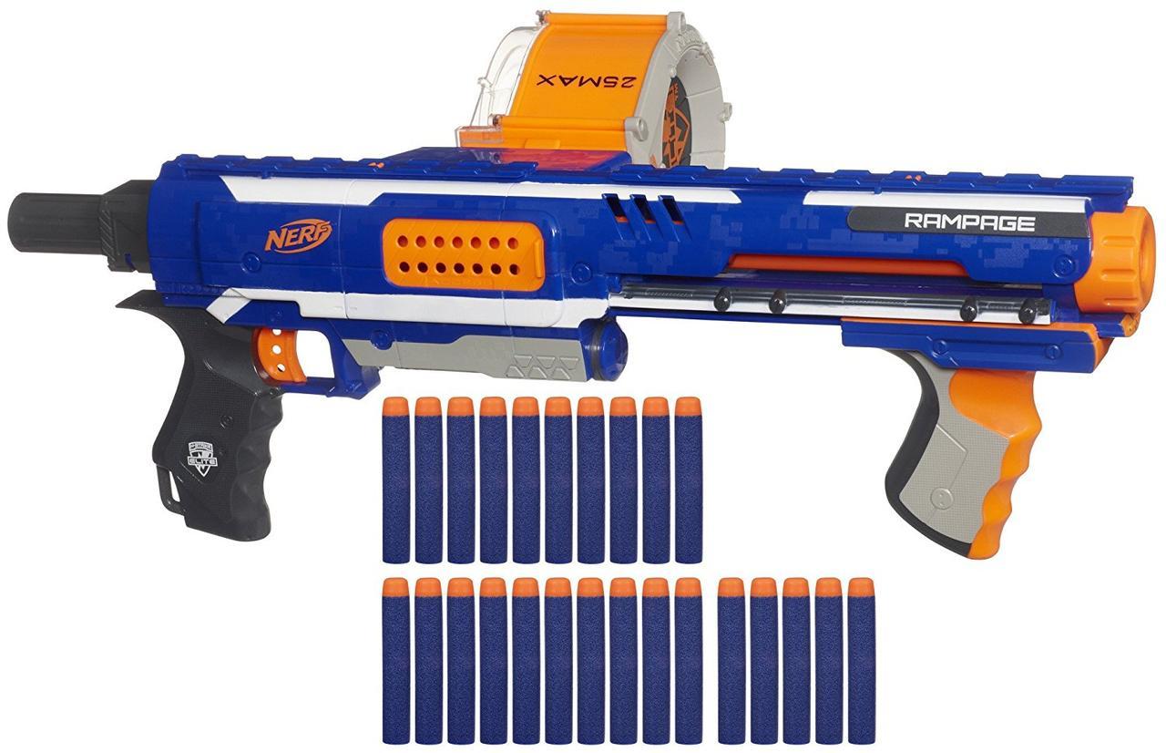 Нерф Оригинал Бластер Элит Рэмпейдж ярость Nerf N-Strike Elite Rampage Blaster Эко упаковка