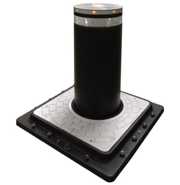 FAAC J355 HA M50 INOX EFO — Гидравлический боллард (с системой подогрева до -40°C)