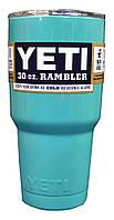 Термокружка YETI Rambler Tumbler 30 OZ Голубая, 890 мл, фото 1