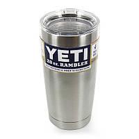 Термокружка YETI Rambler Tumbler 20 OZ Стальная, 590 мл