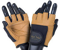 Mad Max Fitness Workout Gloves MFG-444 n.brown/black