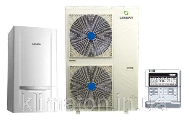 Тепловой насос воздух-вода Lessar LUM-HE080FA2/LSM-H080HFA2