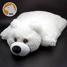 Подушка-игрушка Плюшевый Мишка, белый