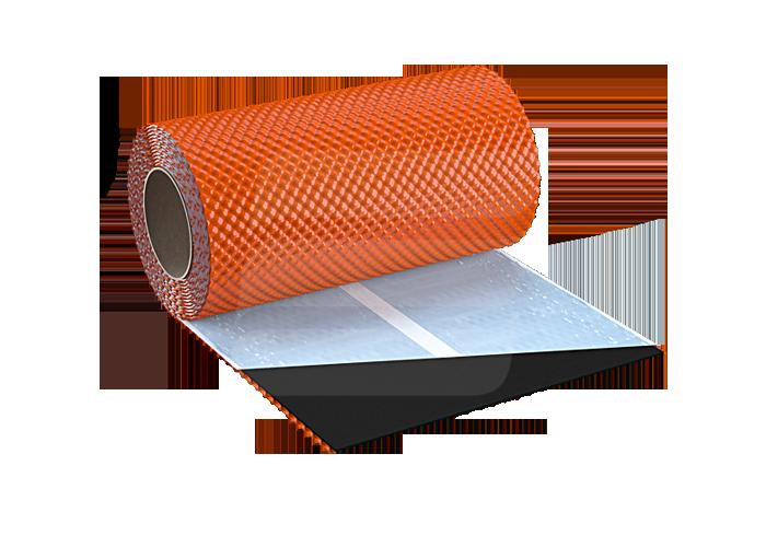Алюминиевая лента Eurovent Flex 3D з бутиловим шаром (300мм × 5м)