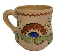 """Чашка """"Лотос"""" 600 мл глиняна (глазурована) в асортименті"""