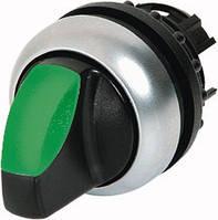 M22-WRLK-G Переключатель с подсветкой 2 положения, зелёный (код 216827)