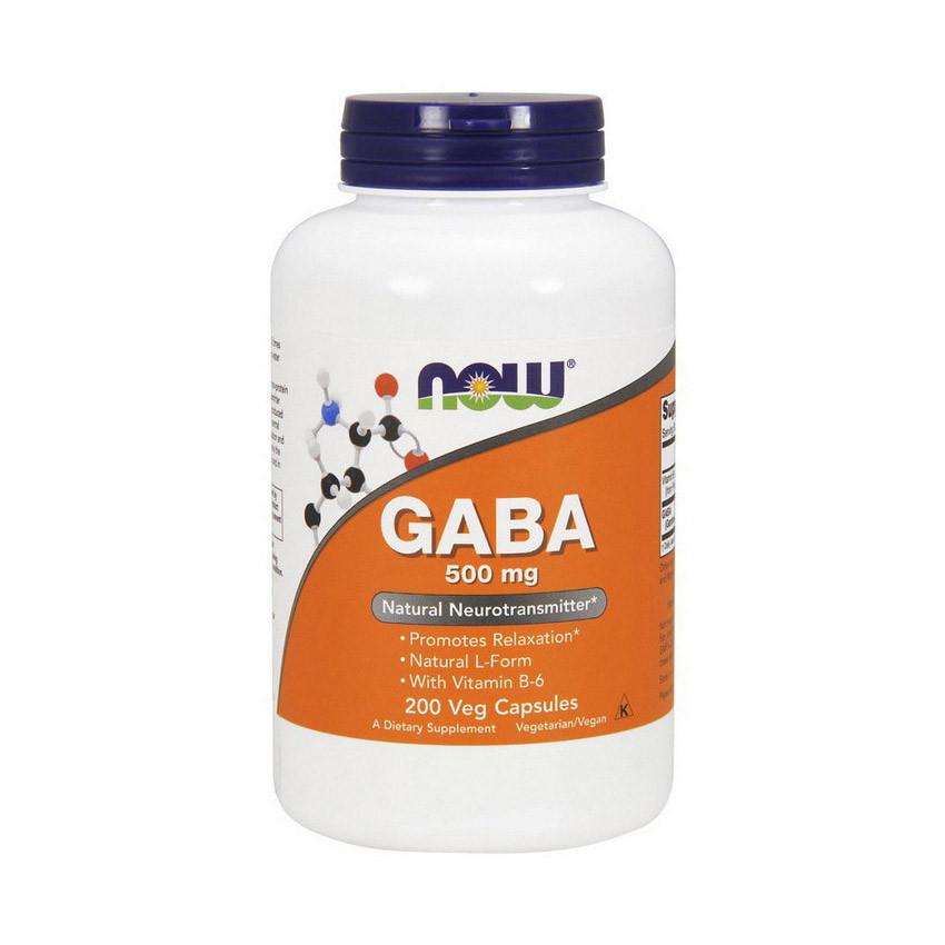 NOW GABA 500 mg 200 caps