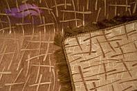 Покрывало Бамбук 210х240 евро. Цвет-коричневый.