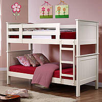 """Двухъярусная кровать """"Прайд"""" из массива дерева"""