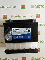 EXIDE YTX9-BS Мото аккумулятор 8 А/ч, 120 А, (+/-), 150х87х105 мм, фото 1