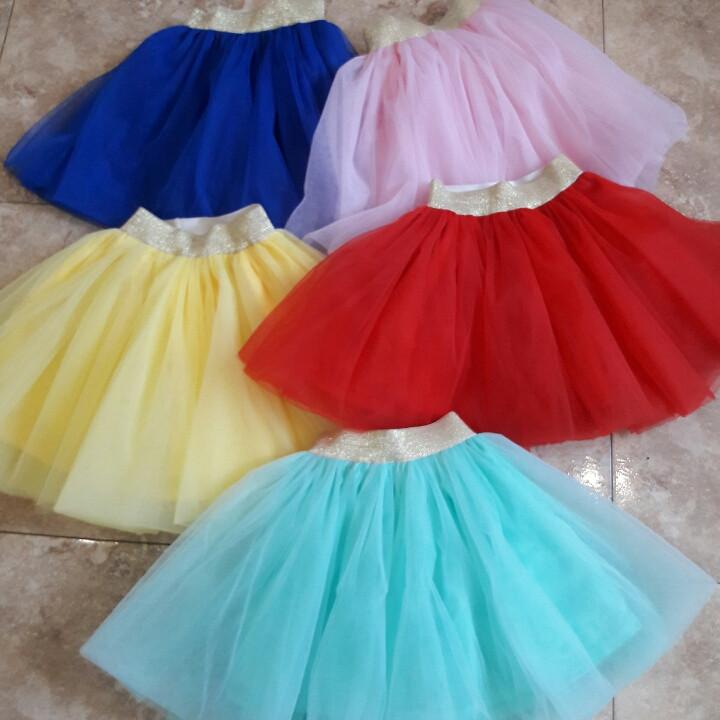 Пышная многослойная детская юбка для хореографии и гимнастики