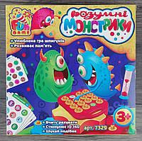 "Настольная игра Для всей семьи ""Розумні монстрики"" 7329 Fun Game"