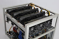 TI-miner (Top) GPU 4 Sapphire Radeon RX Vega 56 8G