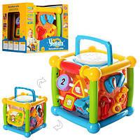 """Музыкальная игрушка  7502 """"Волшебный кубик"""" в коробке 23-18-19 см"""