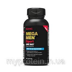 GNC витамины для мужчин Mega Men Sport One Daily 60 caplets