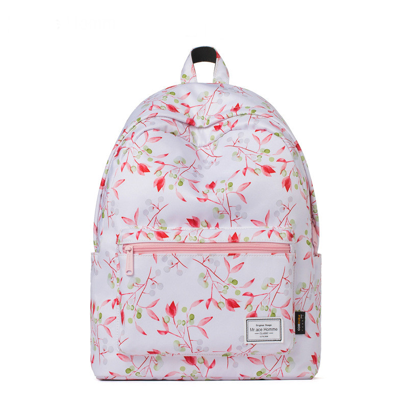 Женский рюкзак от Mr.ace Homme с цветочным узором