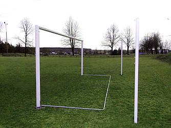 Футбольные ворота  (алюминиевые) 7320х2440 мм. SS00396