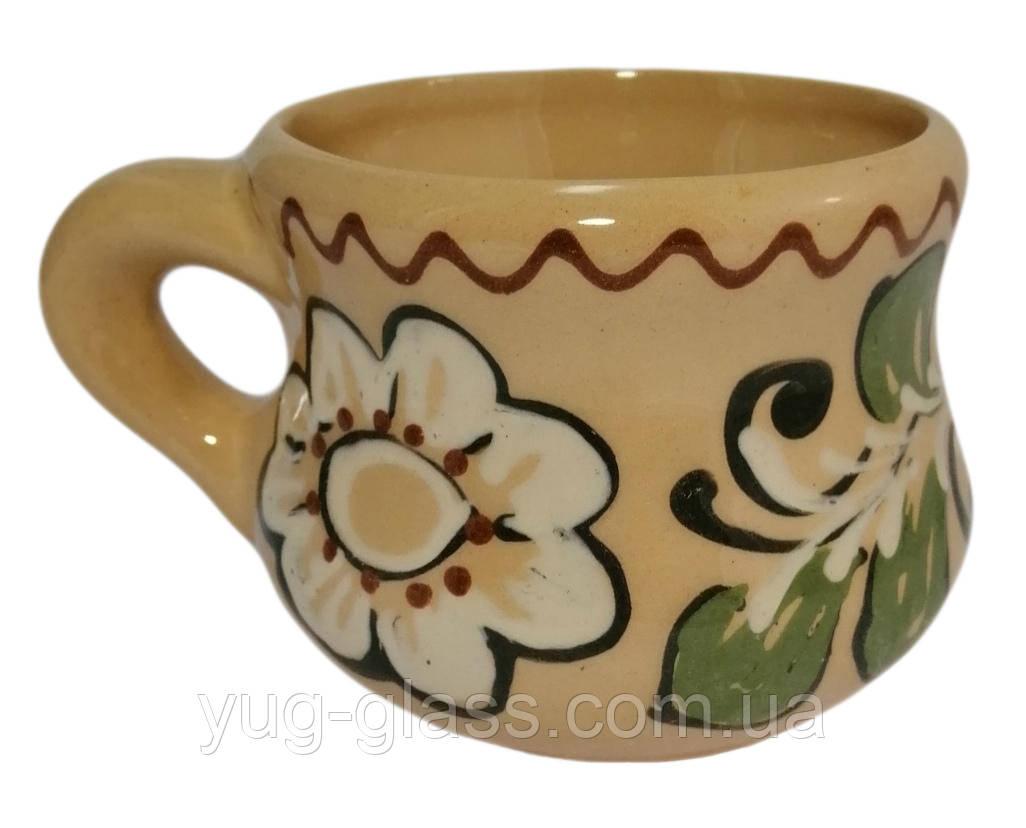 """Чашка """"Тепла"""" 300 мл глиняна (глазурована) васортименті, фото 1"""