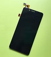 Оригинальный дисплей (модуль) + тачскрин (сенсор) для Fly FS458 Stratus 7 (черный цвет), фото 1