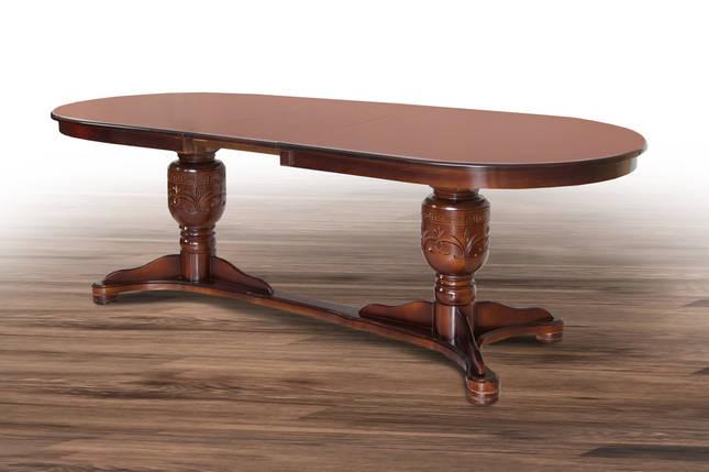 Стол обеденный Герцог 200/250*100 ТМ МиксМебель, фото 2