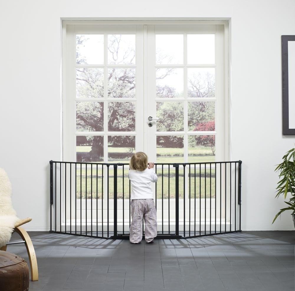 Ограждение Baby Dan FLEX L, цвет черный