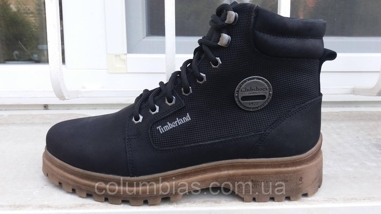 Зимниемужские кожаные ботинки Timberland 3944