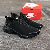 Мужские кроссовки Nike TN ultra Black, Реплика, фото 1