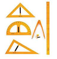 Креслярський набір для дошки/набір для креслення для дошки (5 предметів) Циркуль з голкою