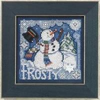 Набор для вышивки Mill Hill Frosty Snowman (2010)