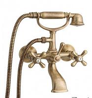 Смеситель для ванной комнаты вентильный 2-073