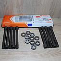 Болт головки блока ГАЗ 405, 409 дв. ЕВРО-3 (ТОРХ) L122мм комплект  10 шт + шайбы (пр-во АДС), фото 2