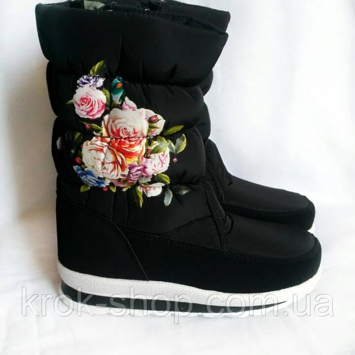 Ботинки женские зимние на молнии оптом