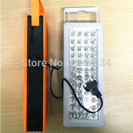 Светодиодная лампа с аккумулятором 48LED, фото 2