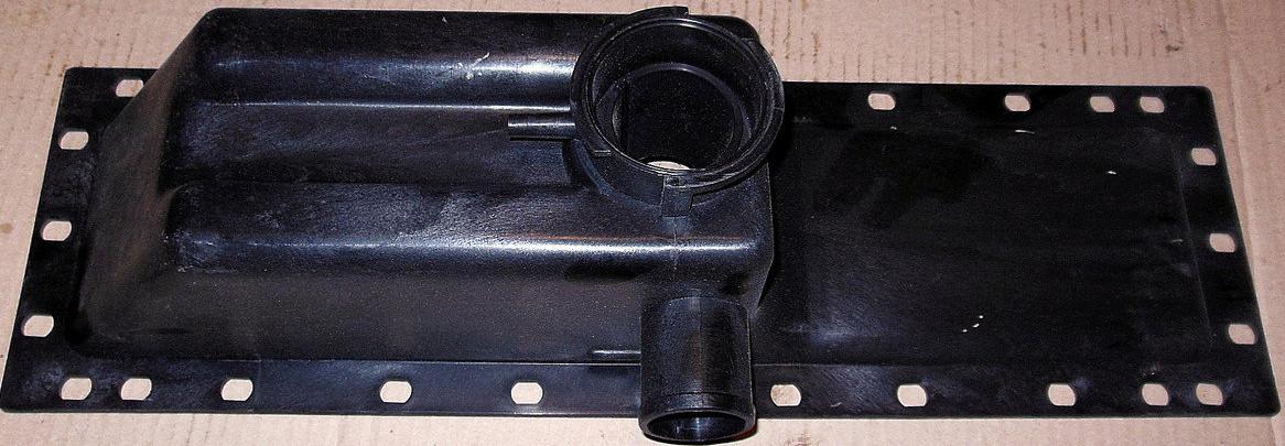 Бак радиатора МТЗ 80, Т 70 верхний (металл)