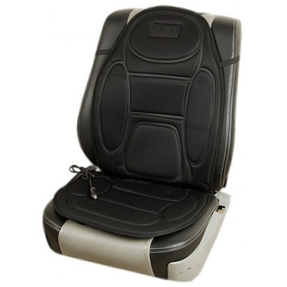 Накидка на сиденье с подогревом серая высокая 12В