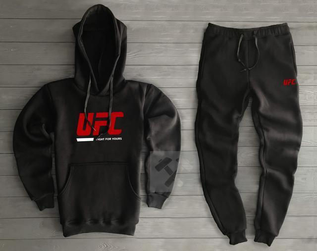 Спортивный костюм UFC черного цвета