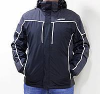 Мужская черная лыжная куртка Nevica Meribel больших размеров Оригинал  56