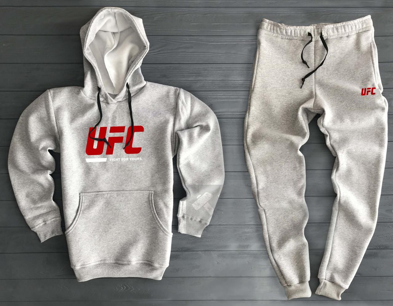 1cf71017 Теплый мужской спортивный костюм UFC цвета Хаки купить в Киеве | Im ...