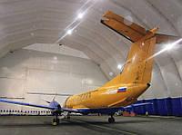Ангар для самолета, ангары для крупной техники, ПКС, пневмокаркасное сооружение, ангар для вертолета, фото 1