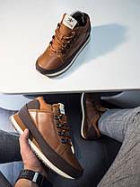 Мужские высокие кроссовки черно-коричневые, фото 2