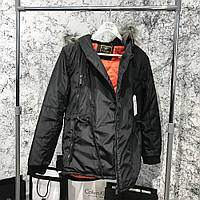 Parka Caswera Skew Black, фото 1