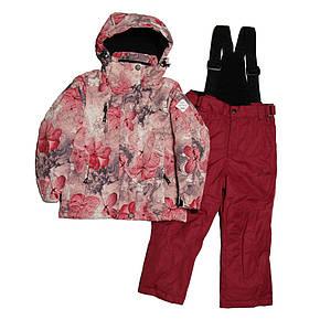 Детский зимний мембранный термокомбинезон для девочки от 3-х до 6 лет DISUMER (SNOWEST), фото 2