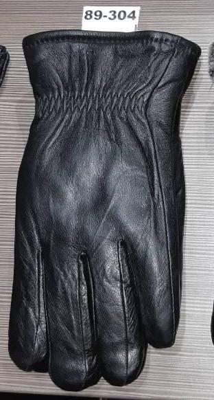 Мужские перчатки зима кожа мех