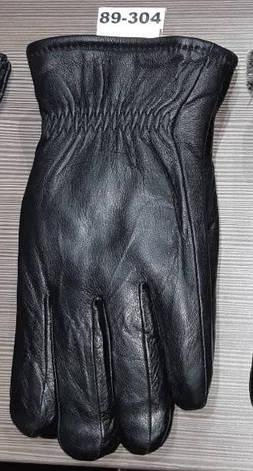 Мужские перчатки зима кожа мех, фото 2