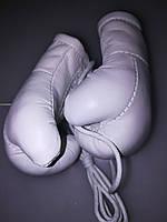 Сувенир.Кожаные боксерские подарочные перчатки .