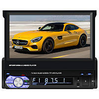 ➤Автомагнитола 7'' Lesko 9601G 1 DIN MP3/WMA/ACC GPS Навигатор c выдвижным экраном
