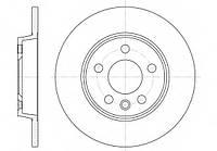Диск тормозной VW TRANSPORTER IV 90-03 задний Rider