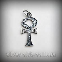 3011 Серебряный Анкх Египетский крест 925 проба